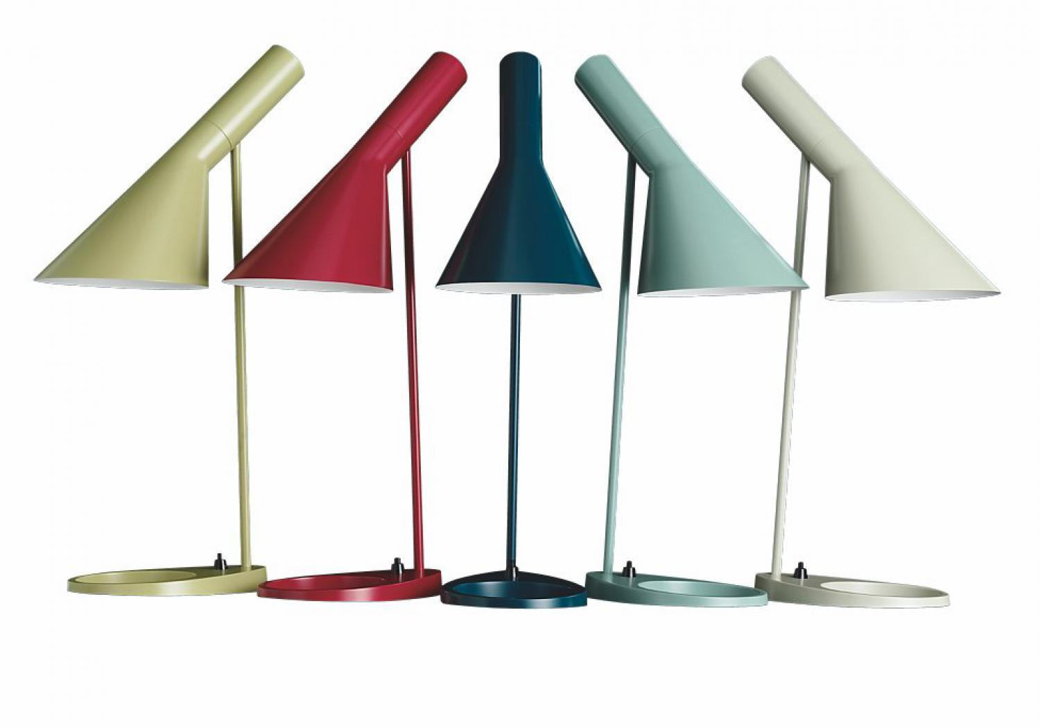 AJ table lamp - Arne Jacobsen - Louis Poulsen - new colours