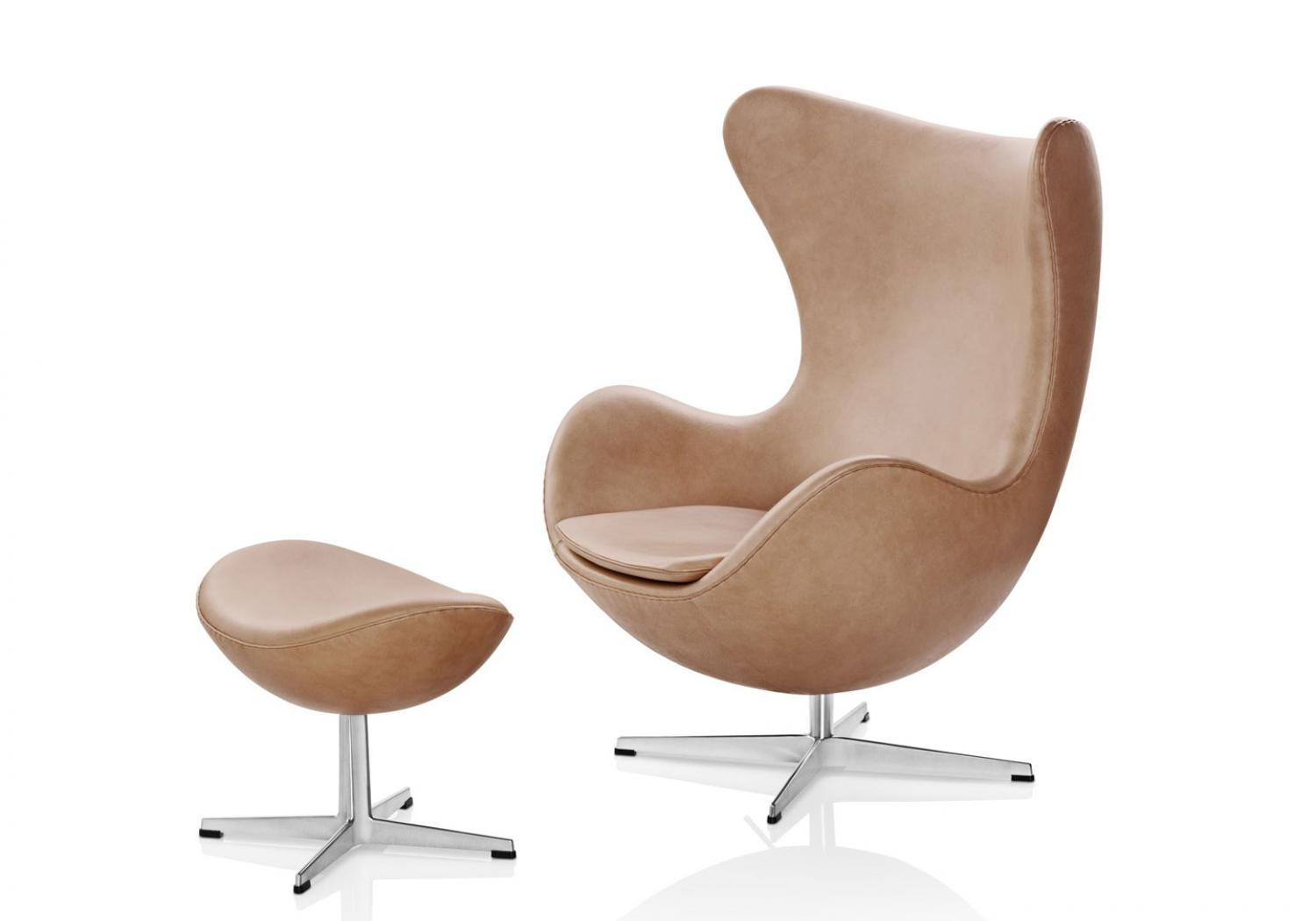 Her Royal Highness Princess Benedikte of Denmark - Fritz Hansen Egg chair