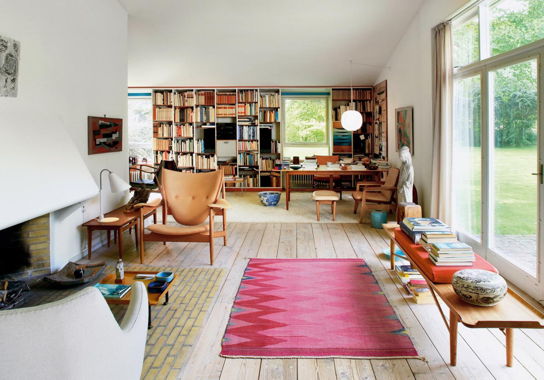 Finn Juhl's home in Wohnrevue