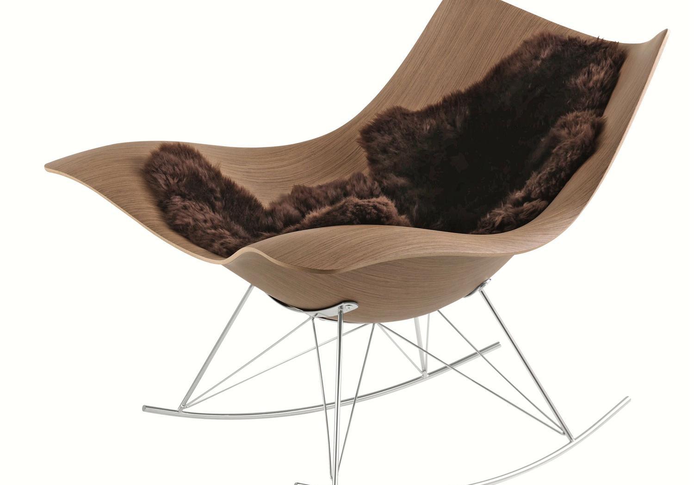 Stingray easy chair by Thomas Pedersen / Grasshopper floor lamp by Greta Grossman / Karin rug by Gunilla Lagerhem Ullberg