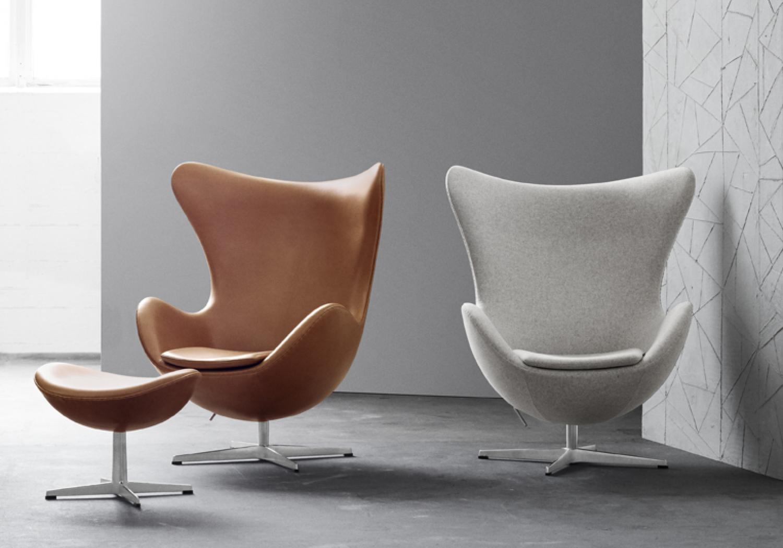 Egg Chair Kaufen Amazing Egg Chair Und Ottoman Von Arne