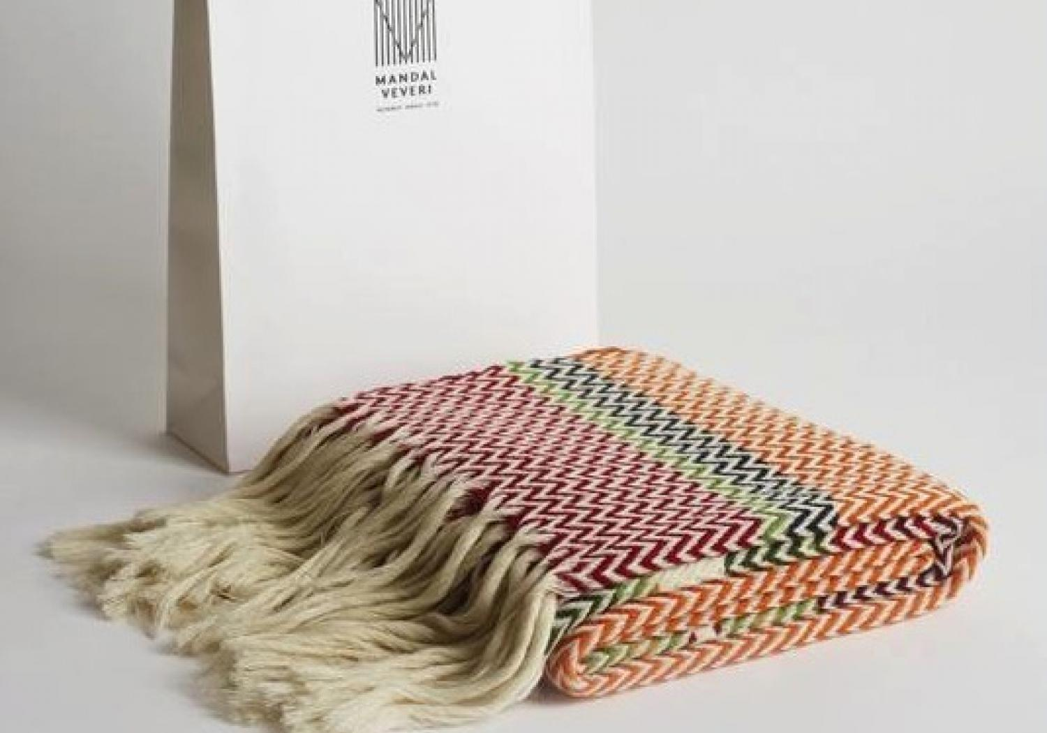 Bunad plaids by Andreas Engesvik from Mandal Veveri