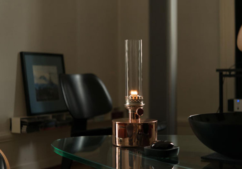 Patina oil lamp - Photo by Christoph Altermatt