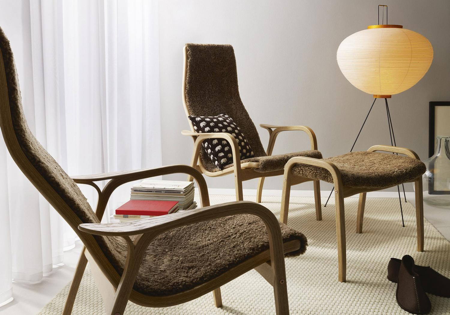 The Lamino armchair, the Yngve Ektröm classic, turns 50